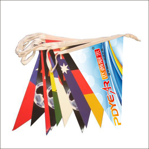 Custom advertising Bunting